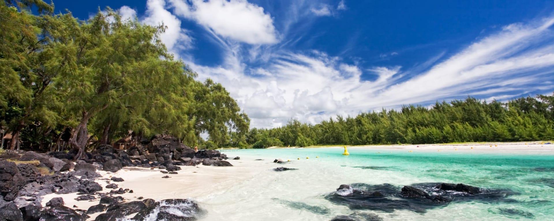 Ile aux Cerfs, DE/EN/FR, Ganztägig in Osten: Mauritius Ile aux Cerfs