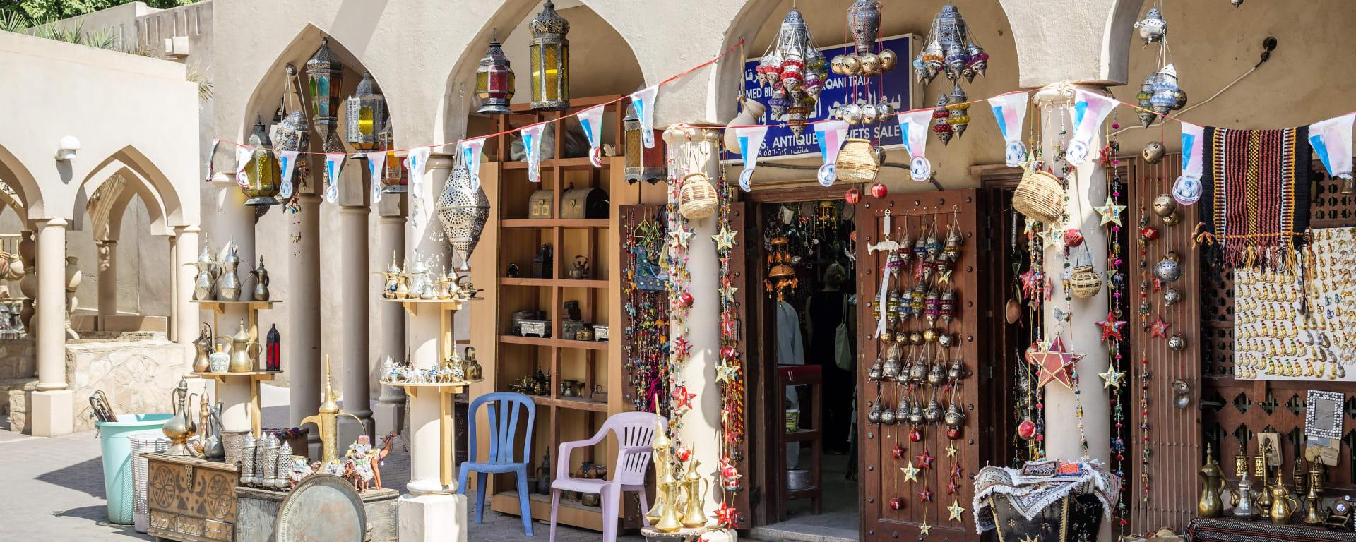 Nizwa und Umgebung, EN, Ganztägig in Muscat: Nizwa Souk