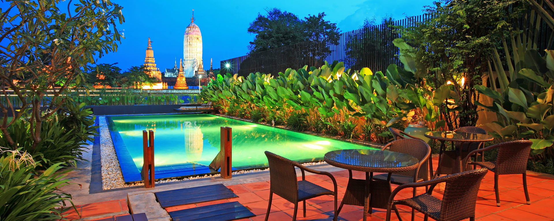 IUDIA on the River in Zentralthailand: Ayutthaya iuDia A Boutique Hotel On The River Pool