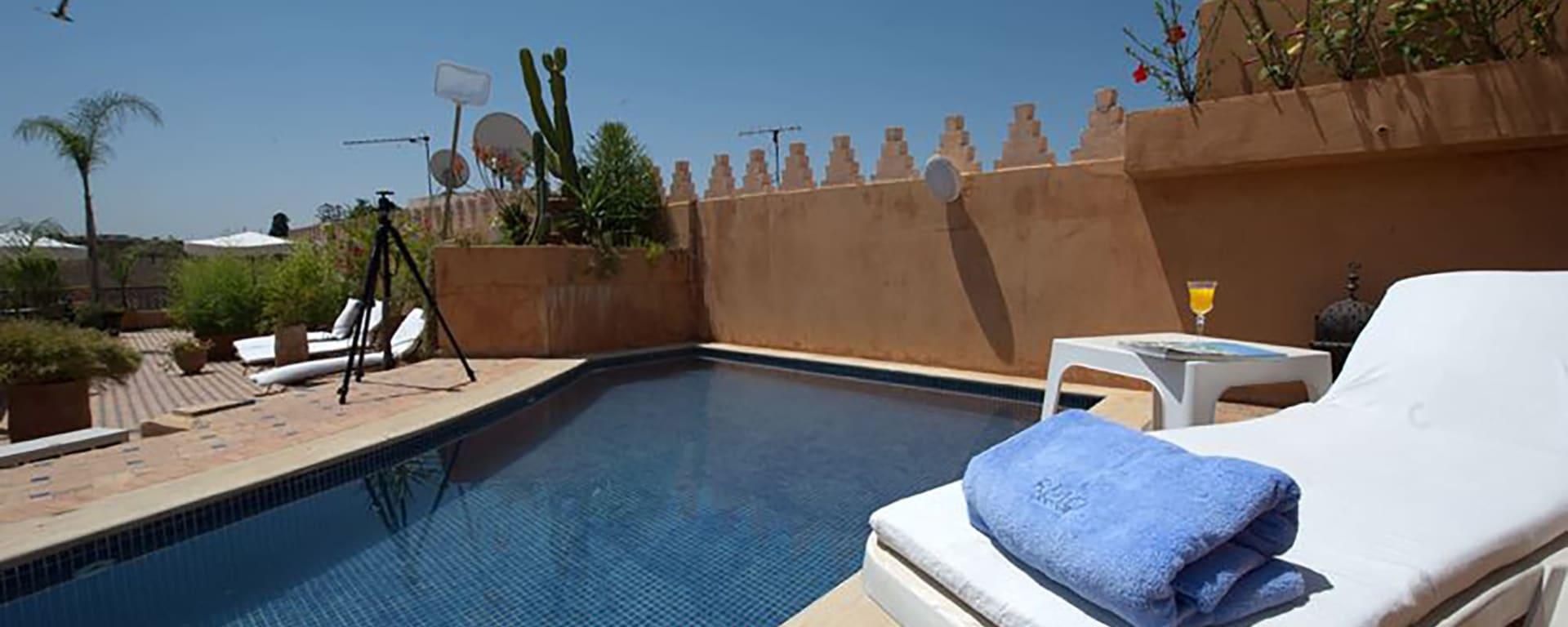 Riad Yacout in Meknès: Marokko Riad Yacout Pool