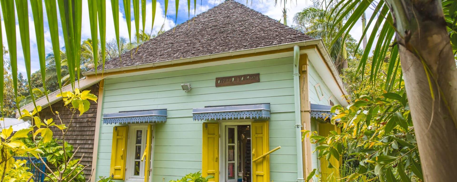 Höhepunkte La Réunion ab Küstenregion: Reunion Cilaos kreolisches Haus