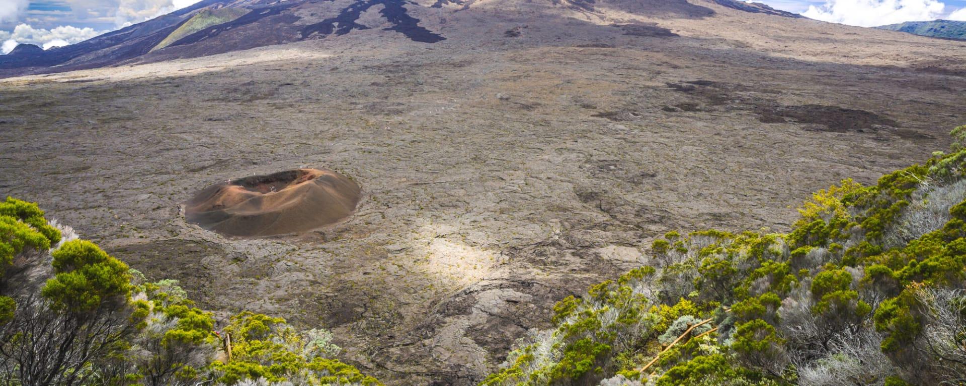 Der Vulkan, EN, Ganztägig in Zentral La Réunion: Réunion Piton de la Fournaise