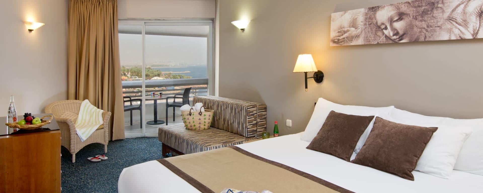 Leonardo Plaza Eilat in Rotes Meer: Eilat Leonardo Plaza Superior Seeblick Zimmer