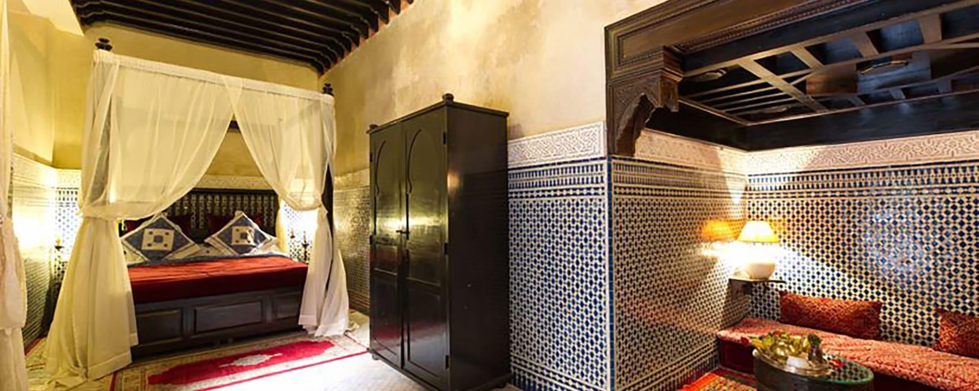 Riad Yacout in Meknès: Marokko Riad Yacout Suite