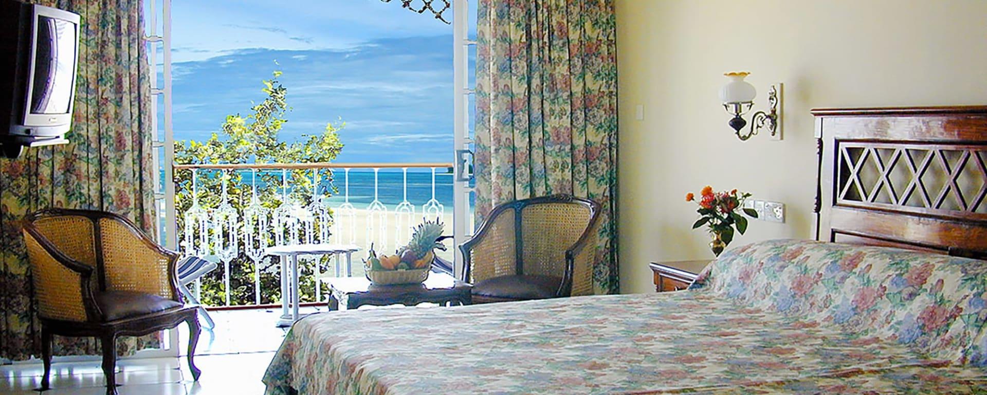 Palm Beach Hotel in Praslin: Seychellen Palm Beach Hotel Wohnbeispiel