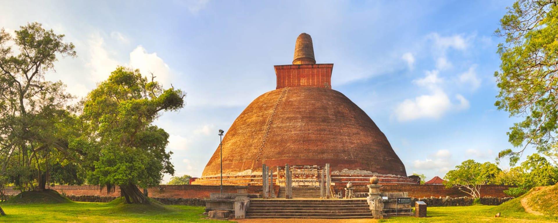Auf neuen Wegen ab Colombo: Sri Lanka Anuradhapura