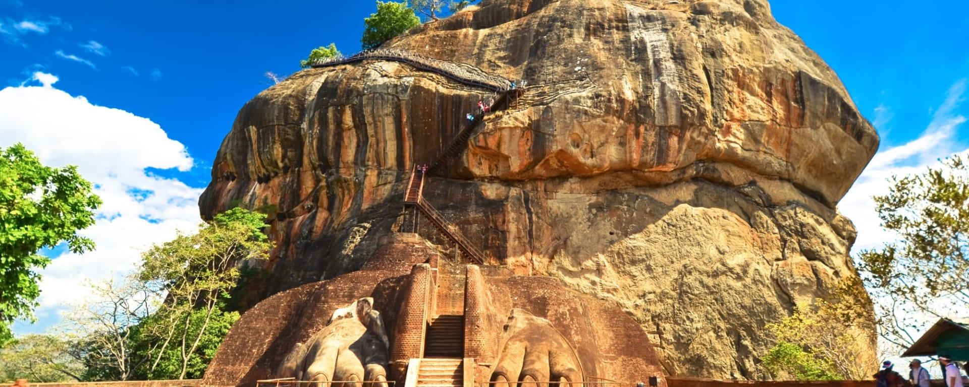 Sigiriya Jungles und Umgebung: Sri Lanka Sigiriya Lion Rock
