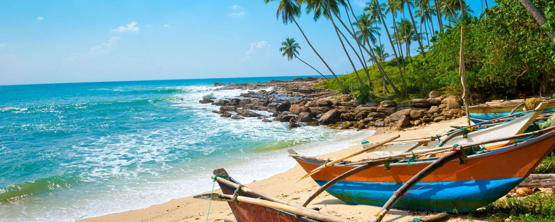 Familienabenteuer Sri Lanka ab Colombo: Sri Lanka Strand