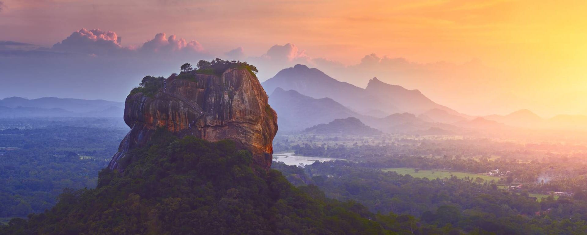Sri Lanka entdecken mit Tischler Reisen: Sri Lanka Sigiriya Panorama