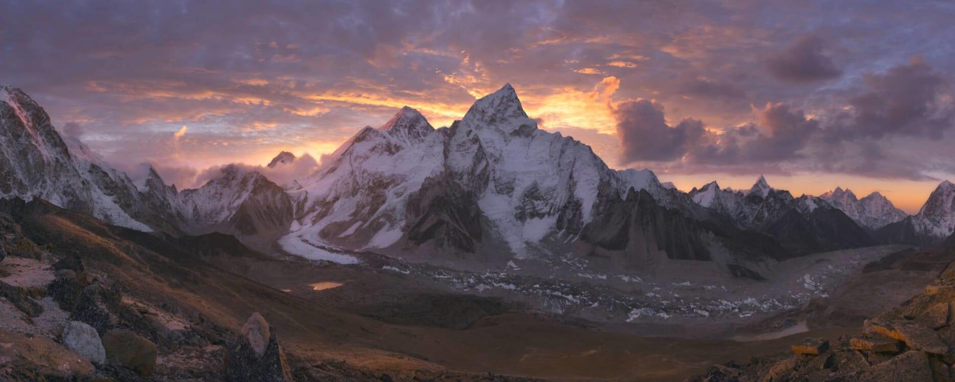 Nepal entdecken mit Tischler Reisen: Nepal Mount Everest Sonnenaufgang
