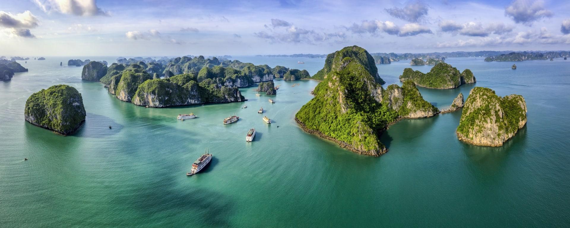 Vietnam entdecken mit Tischler Reisen: Vietnam Halong Bucht