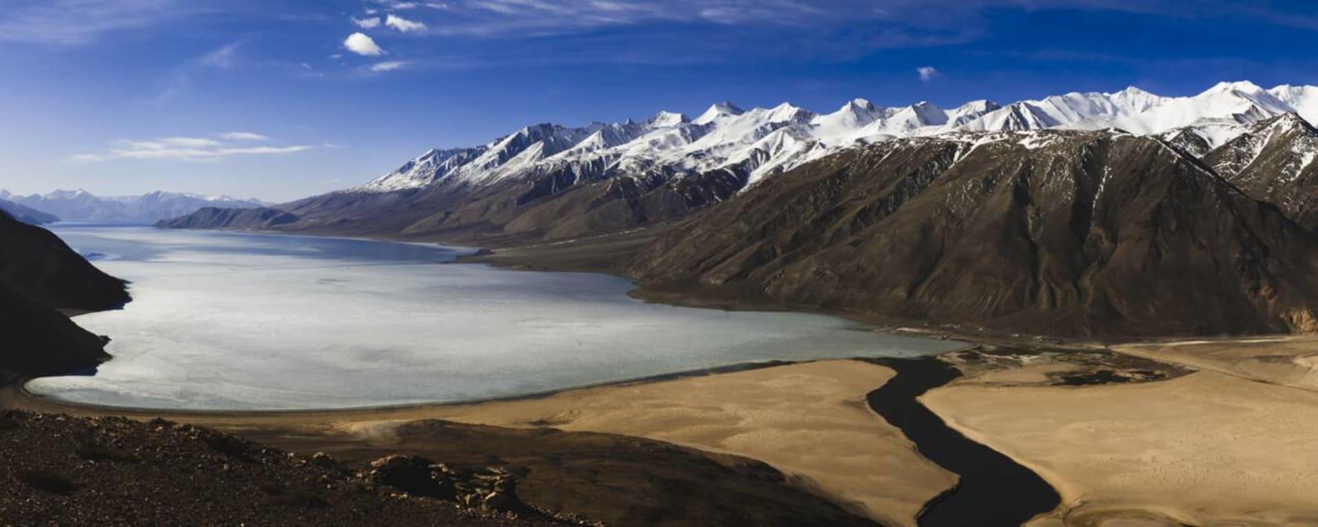China entdecken mit Tischler Reisen: Tibet Pangong Tso Lake