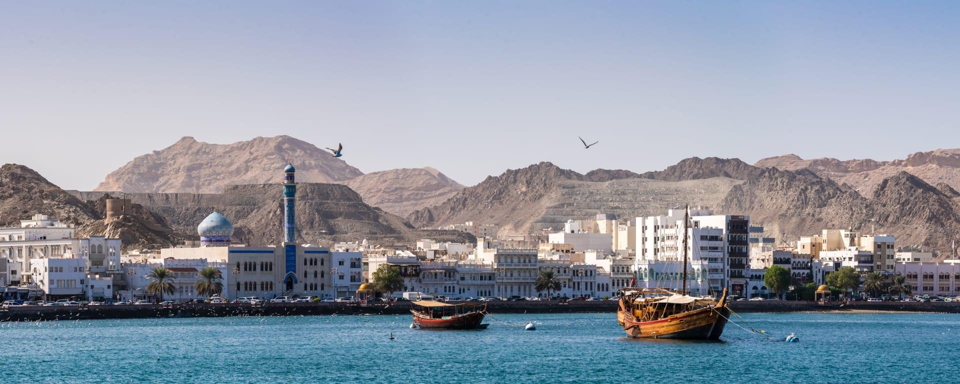 Oman entdecken mit Tischler Reisen: Oman Muscat Muttrah