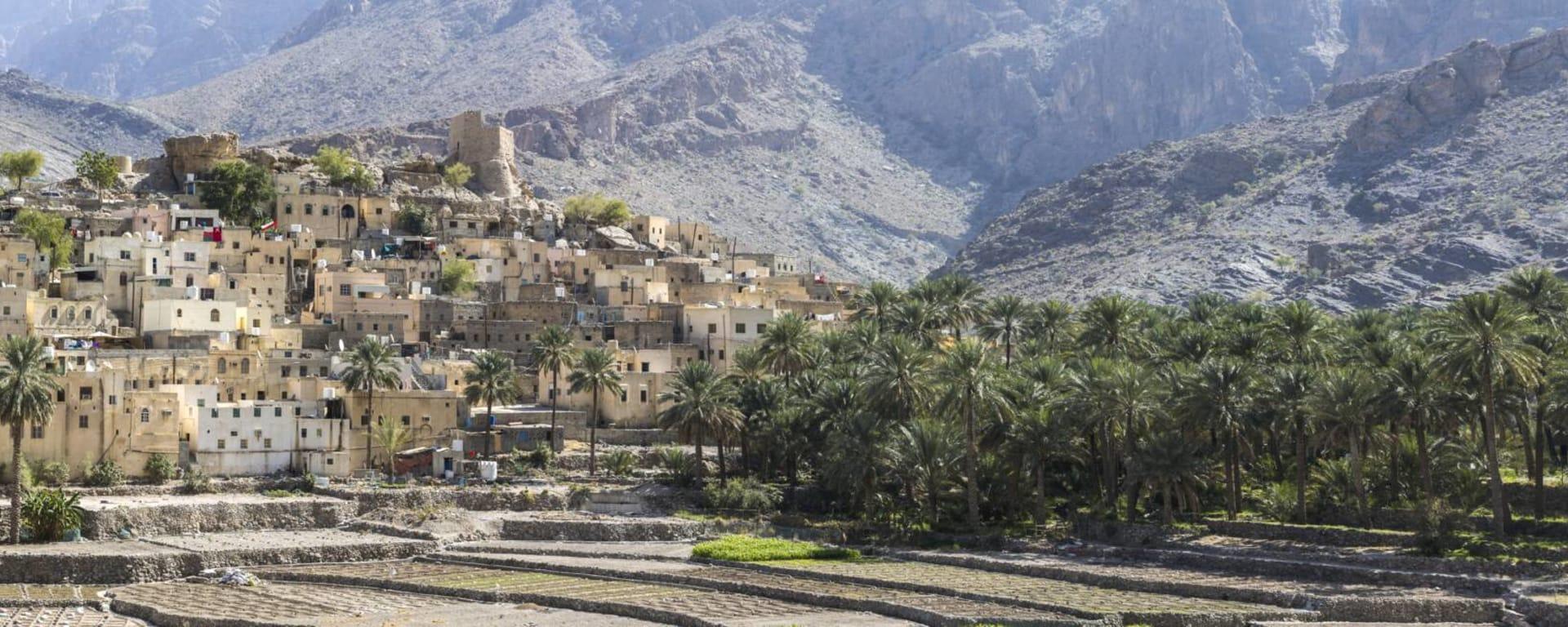 Oman entdecken mit Tischler Reisen: Oman Dorf Bald Sayt
