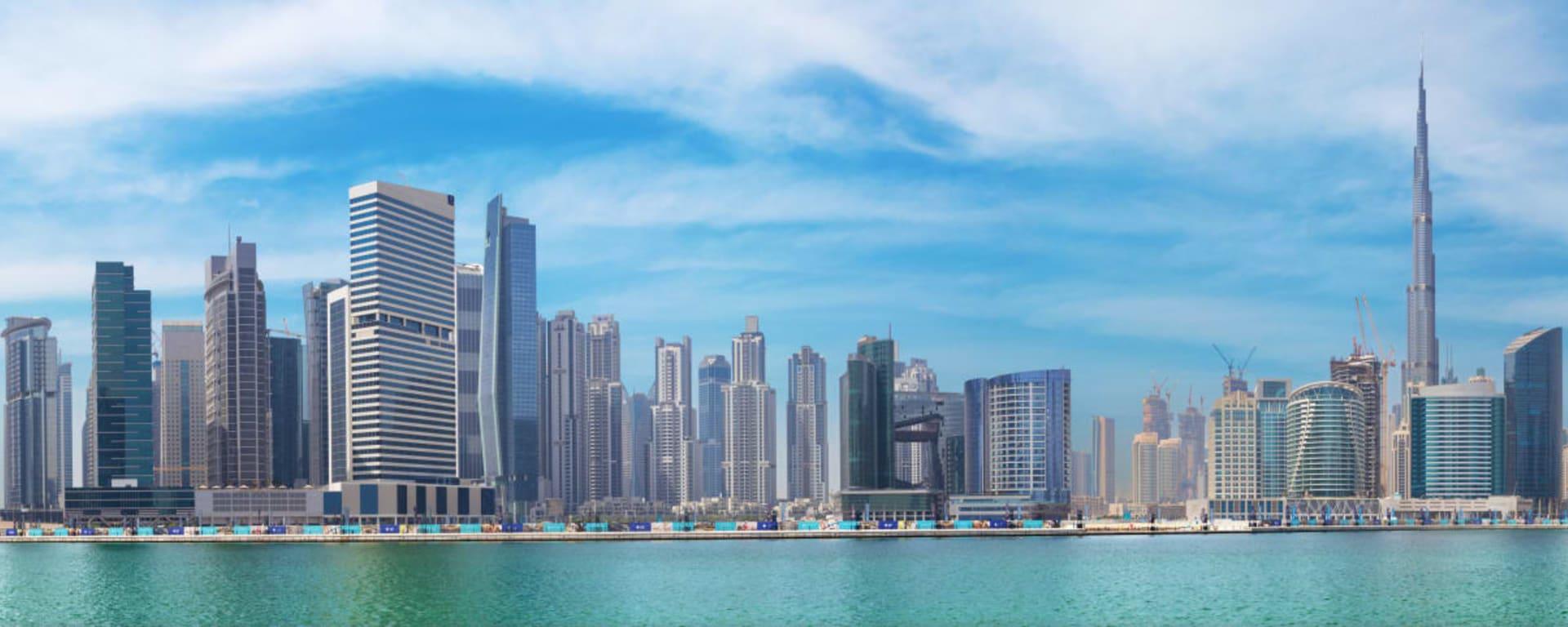 Vereinigte Arabische Emirate entdecken mit Tischler Reisen: Dubai Skyline