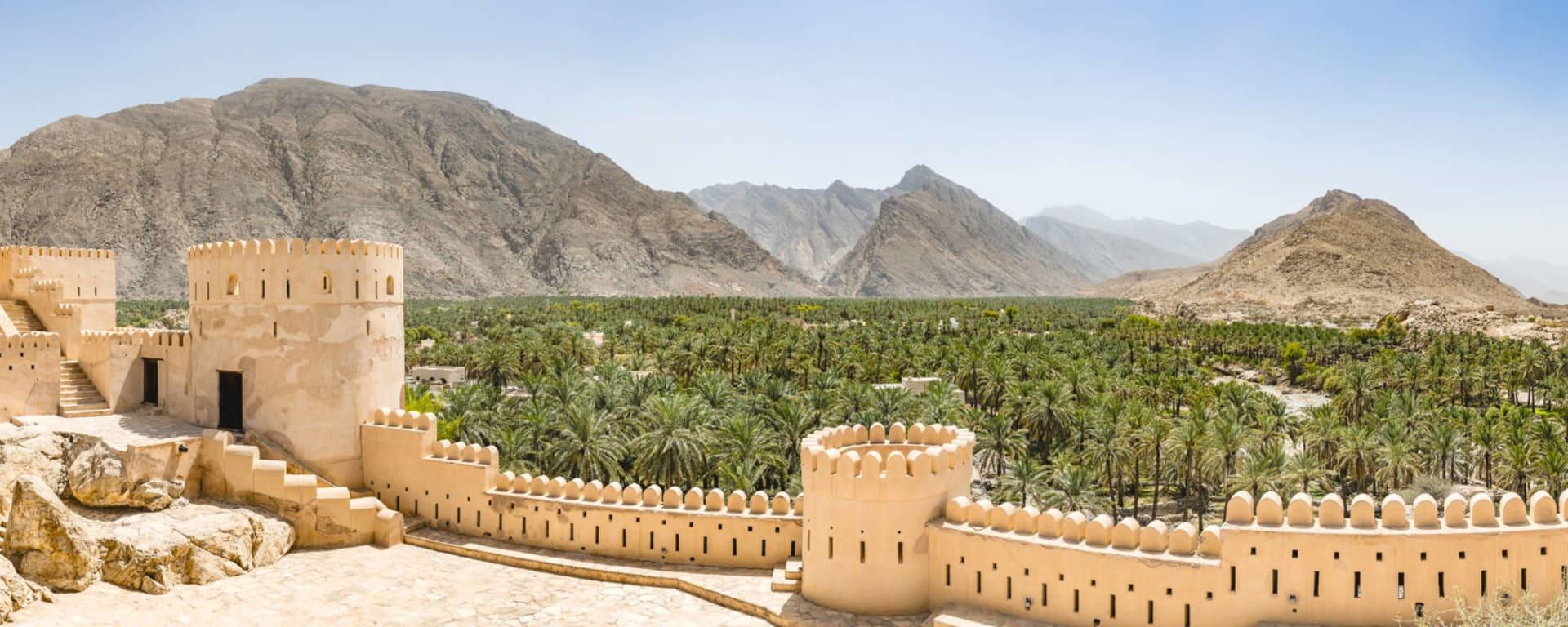 Oman entdecken mit Tischler Reisen: Oman Nakhl Fort