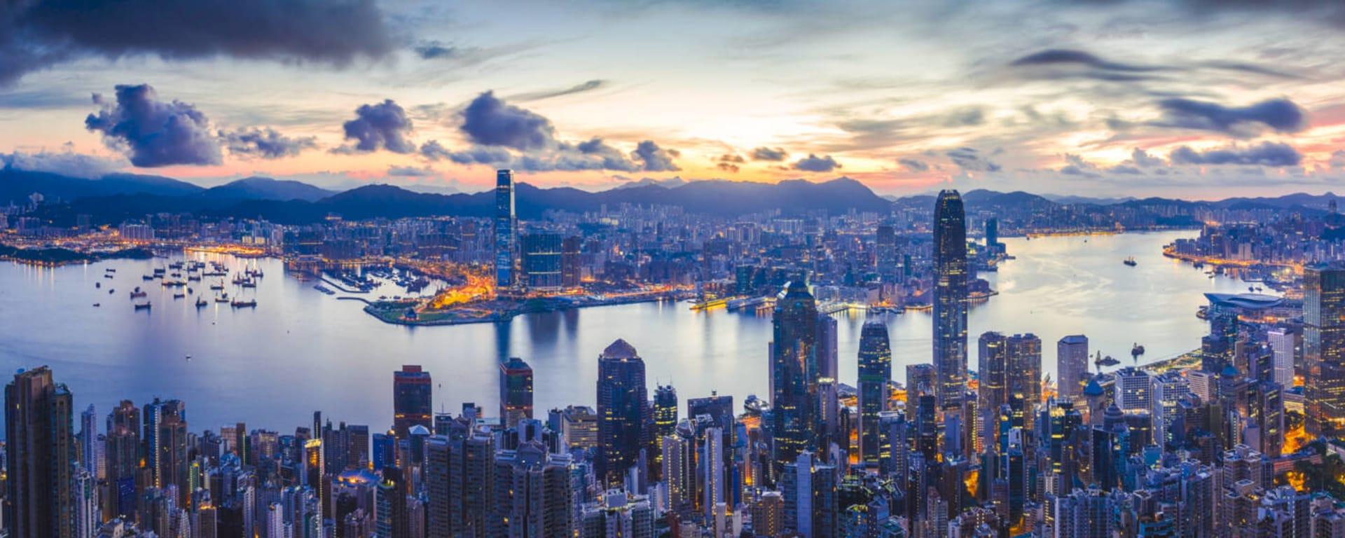 Hong Kong entdecken mit Tischler Reisen: Hong Kong Panorama