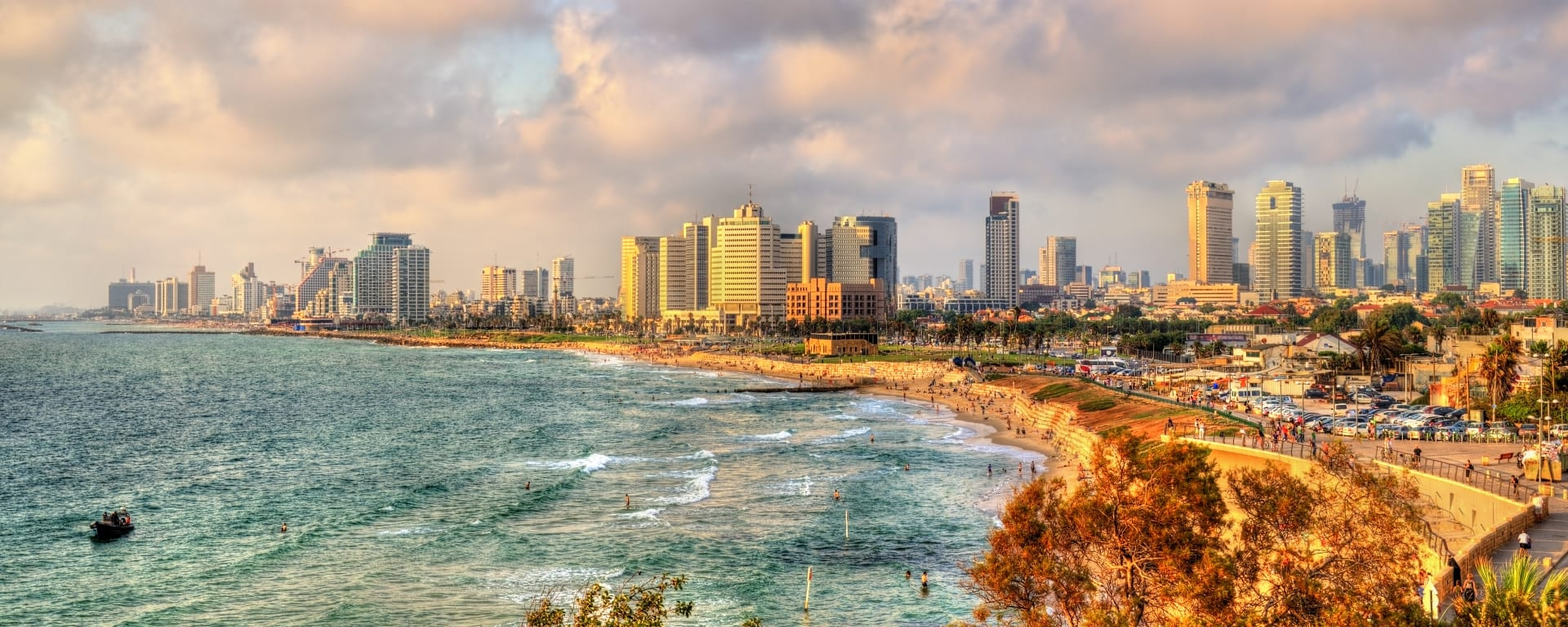 Israel entdecken mit Tischler Reisen: Israel Tel Aviv Stadtansicht