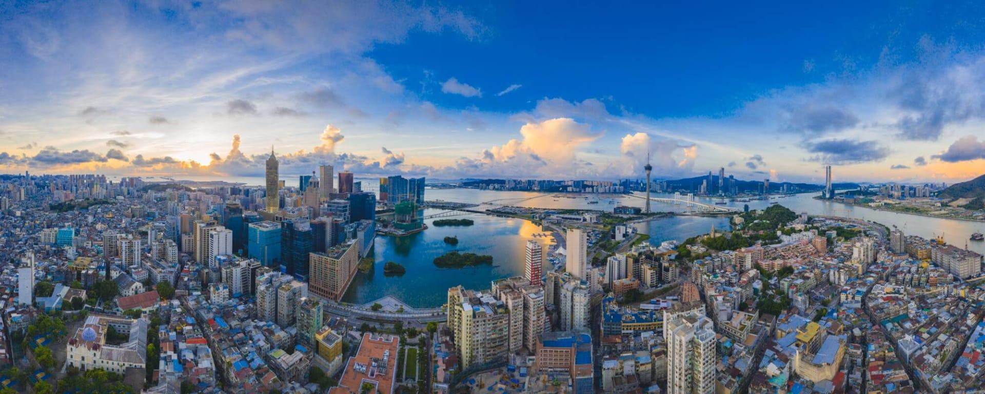 Macau entdecken mit Tischler Reisen: Macau City Panorama