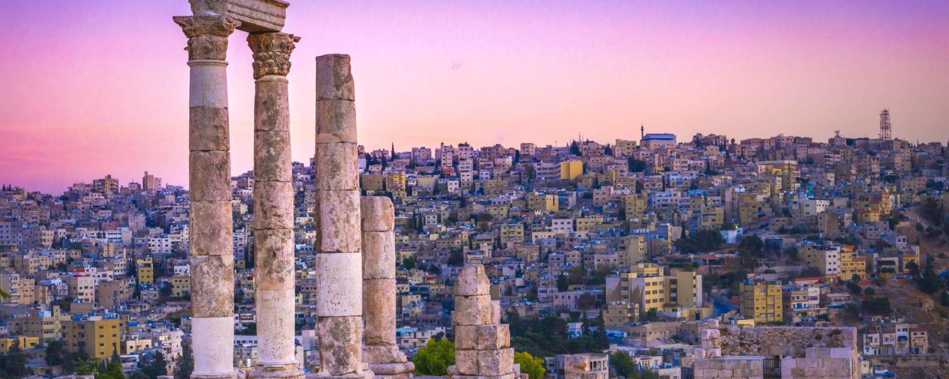 Jordanien entdecken mit Tischler Reisen: Jordanien Amman Zitadelle archaeologischer Park