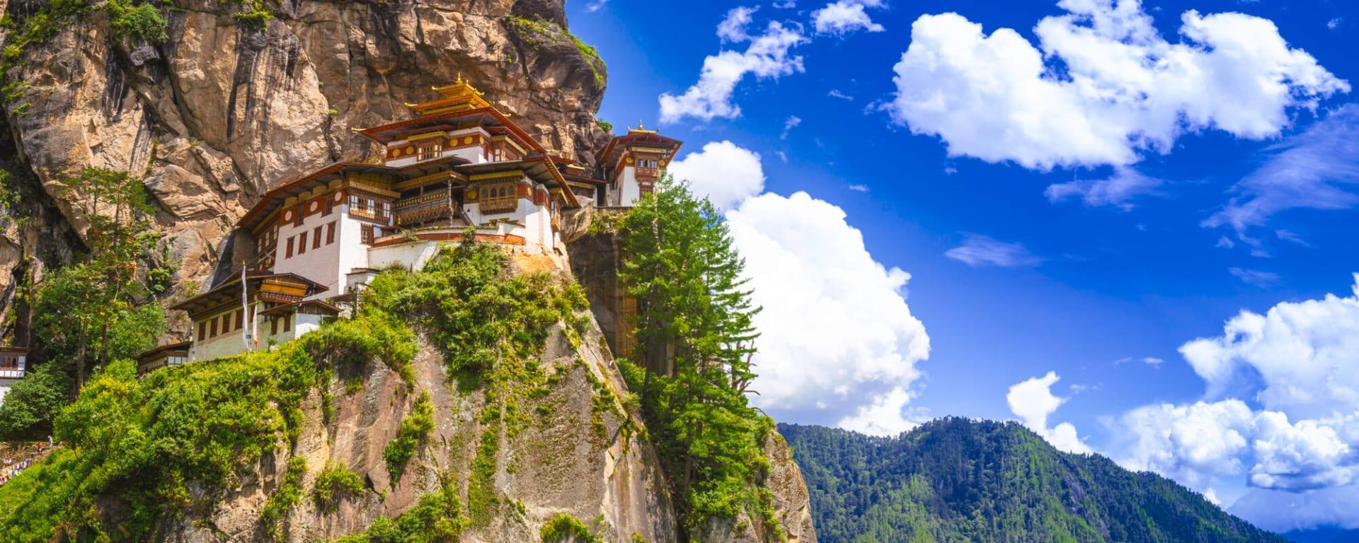 Bhutan entdecken mit Tischler Reisen: Bhutan Tigernest Kloster