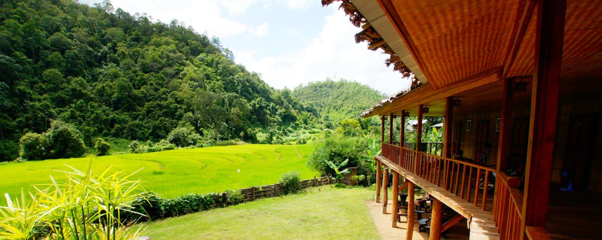 Soft Adventure Nordthailand ab Chiang Mai: Thailand Nordthailand Karen Hilltribe Lodge