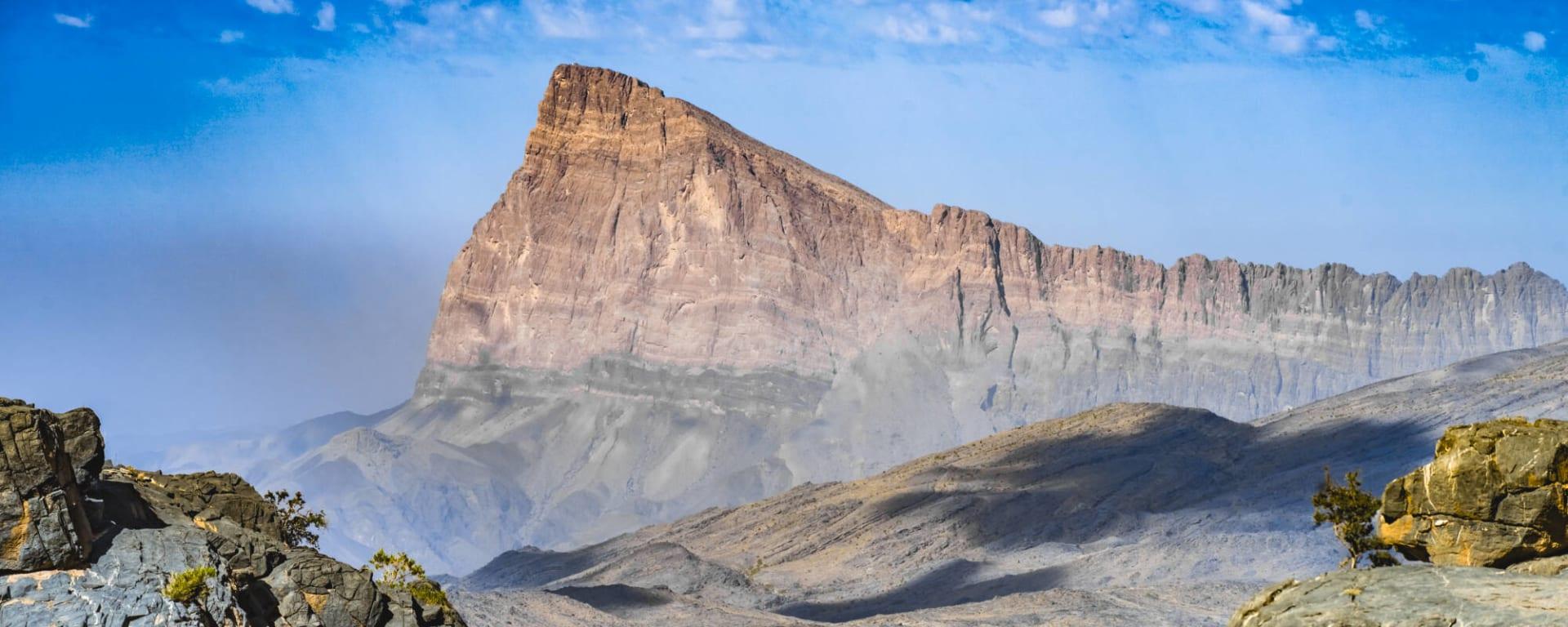 Jebel Shams - Berg der Sonne, DE, Ganztägig in Muscat: Oman Jebel Shams
