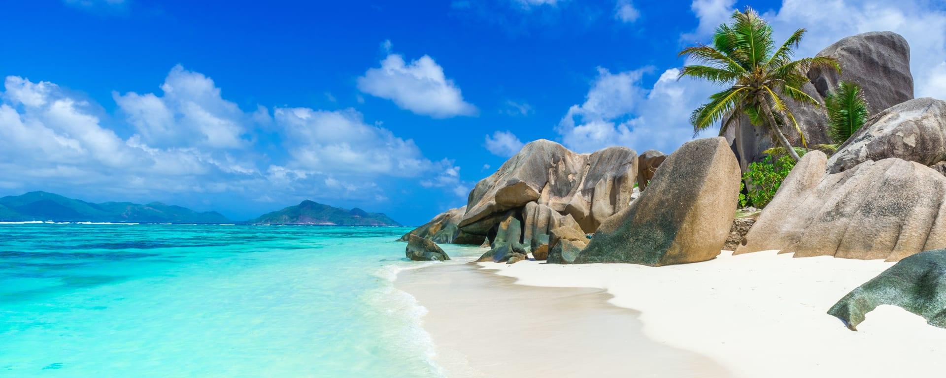 Seychellen entdecken mit Tischler Reisen: Seychellen La Digue Anse Source Dargent