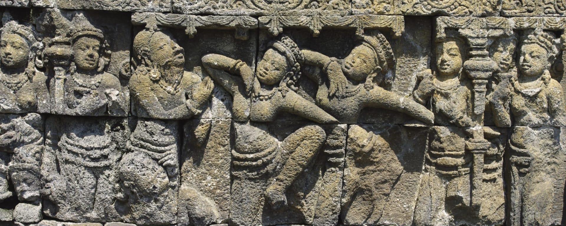 Entdeckertour Mittel-Java ab Yogyakarta und Umgebung: Indonesien Java Borobudur Details