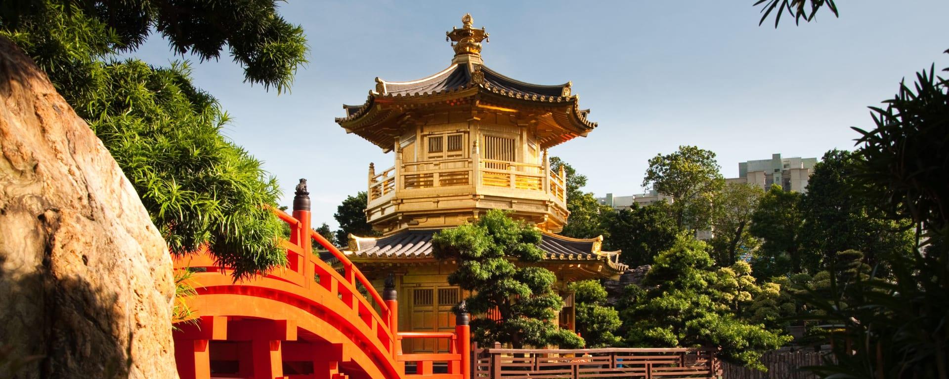 Hong Kong entdecken mit Tischler Reisen: Hong Kong Nan Lian Garten