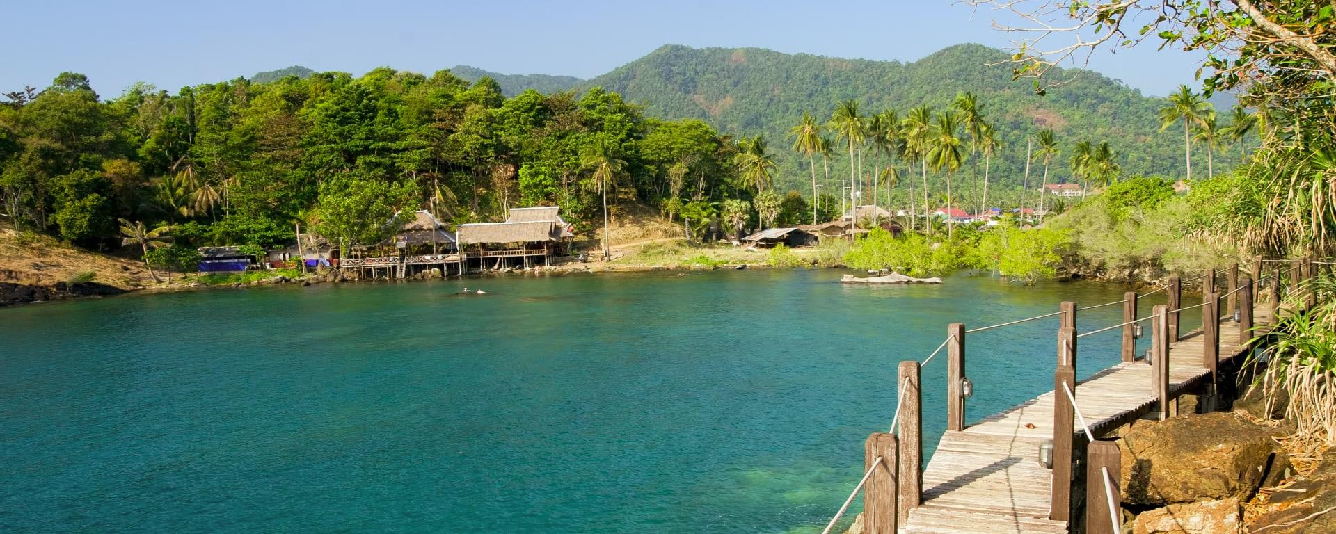 Inselhüpfen Golf von Siam ab Ko Chang & Umgebung: Thailand Ko Chang