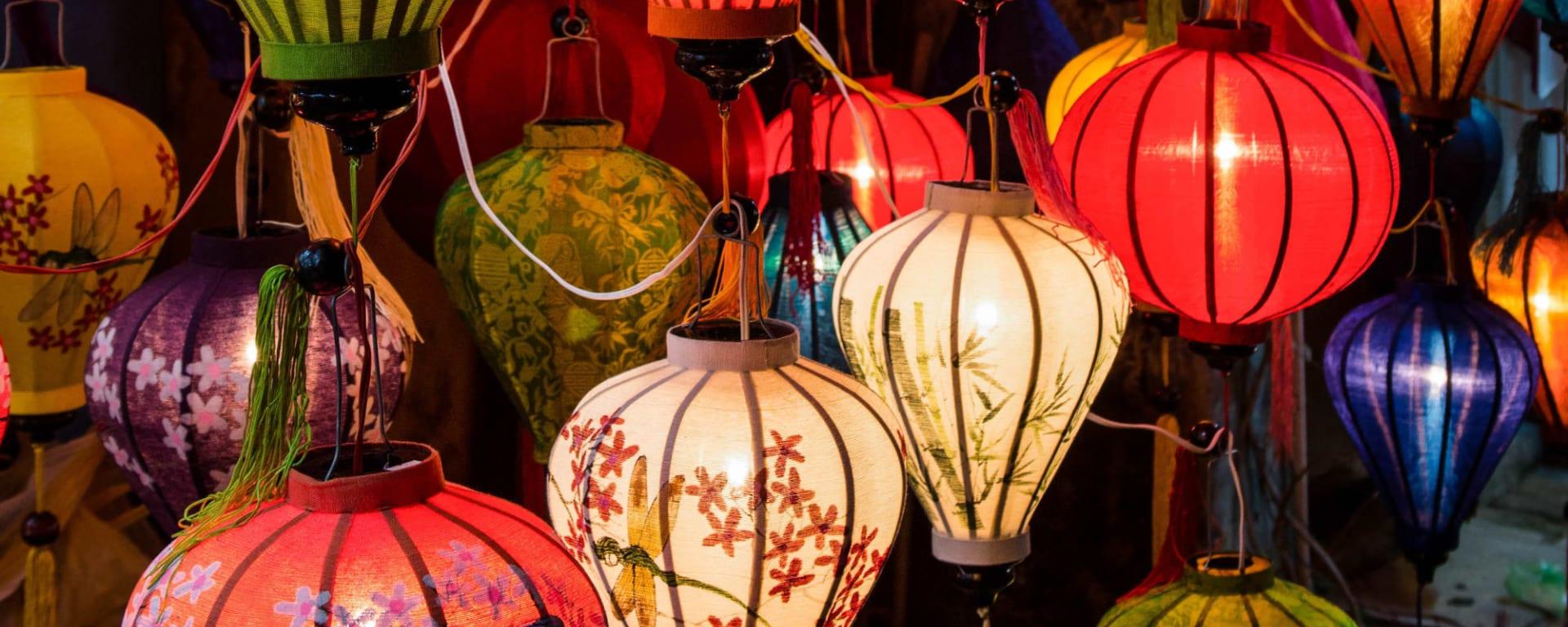 Höhepunkte Vietnams ab Hanoi: Vietnam Hoi An Laternen
