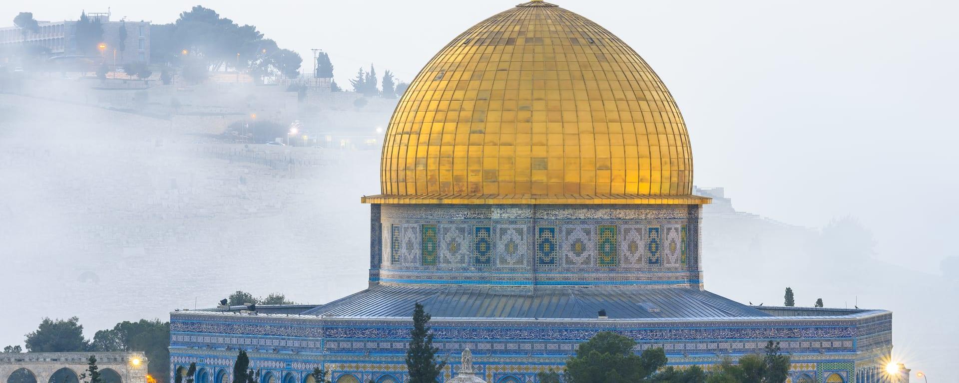 Israel entdecken mit Tischler Reisen: Israel Jerusalem Felsendom