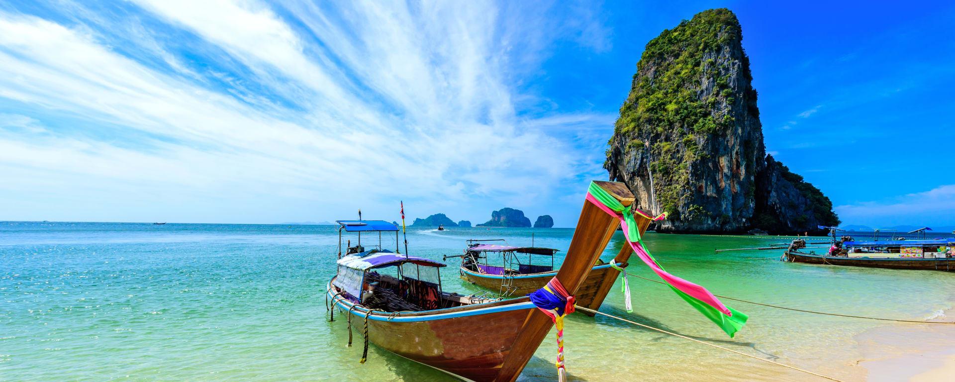 Thailand entdecken mit Tischler Reisen: Thailand Kabi Ao Phra Nang Beach