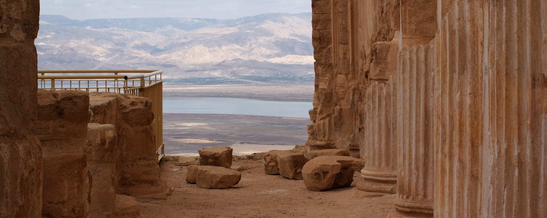 Israel entdecken mit Tischler Reisen: Israel Masada Ruinen Herodes Festung
