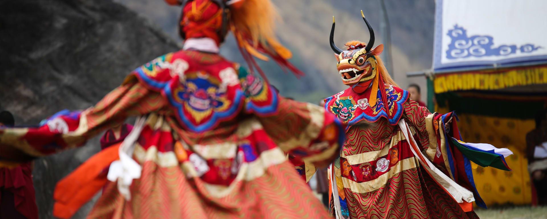 Bhutan entdecken mit Tischler Reisen: Bhutan Paro Festival