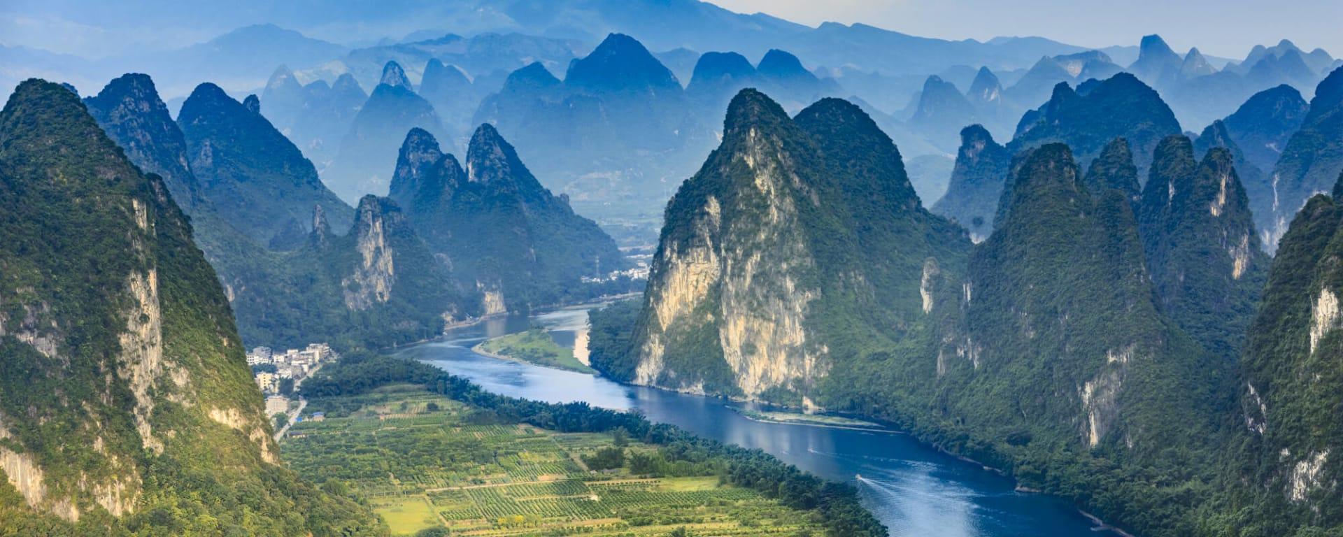 China entdecken mit Tischler Reisen: China Guilin Li Fluss