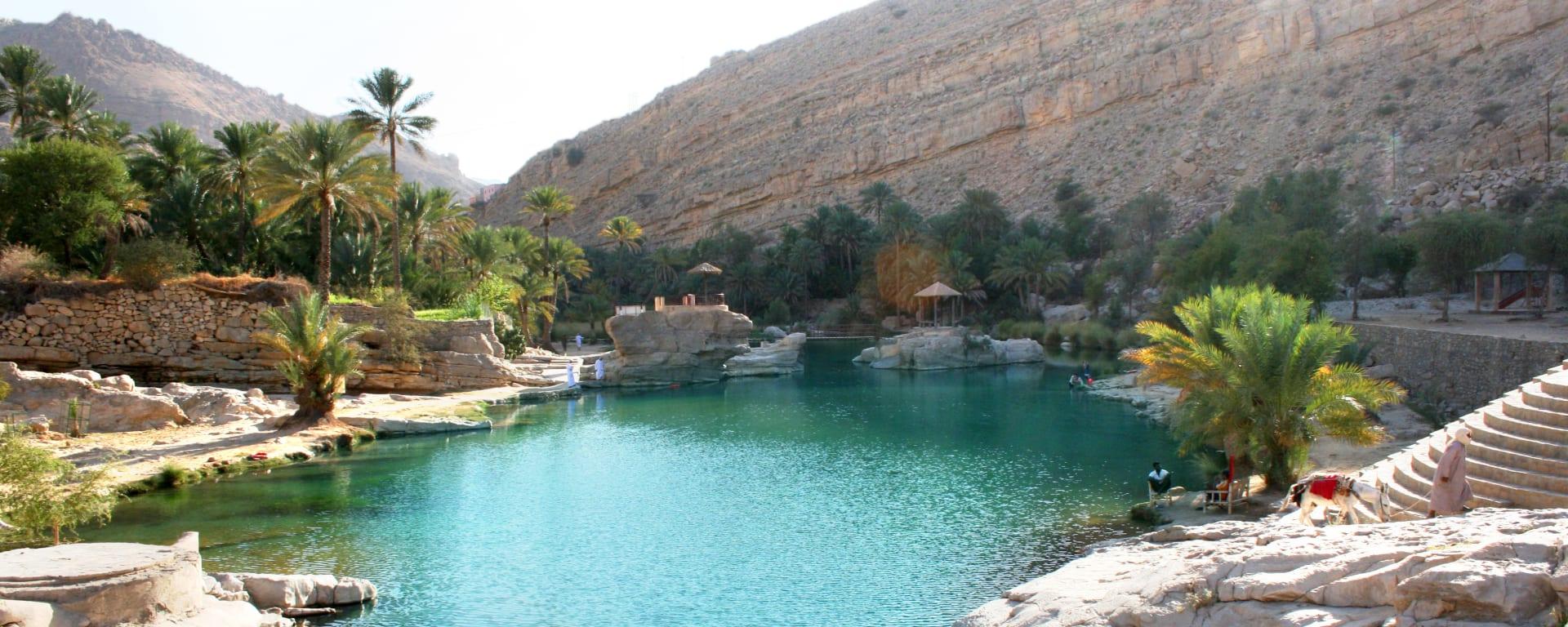 Oman entdecken mit Tischler Reisen: Oman Wadi Bani Khalid