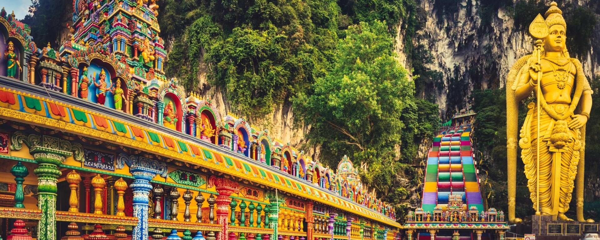 Malaysia entdecken mit Tischler Reisen: Malaysia Hindutempel Batu Hoehlen