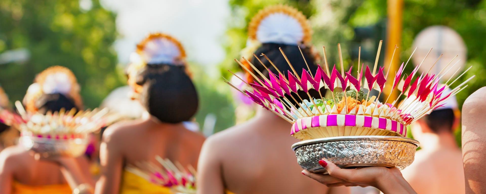 Indonesien entdecken mit Tischler Reisen: Indonesien Bali Zeremonie