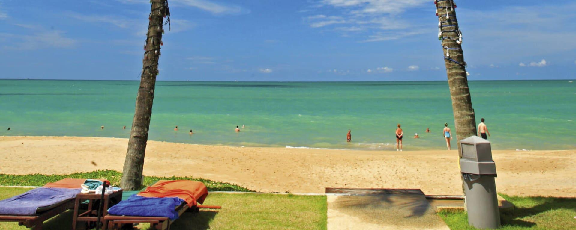 Khao Lak Bayfront Resort: Thailand Khao Lak Bayfront Resort Strand