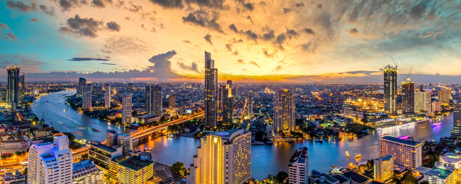 Thailand entdecken mit Tischler Reisen: Thailand Bangkok Panorama