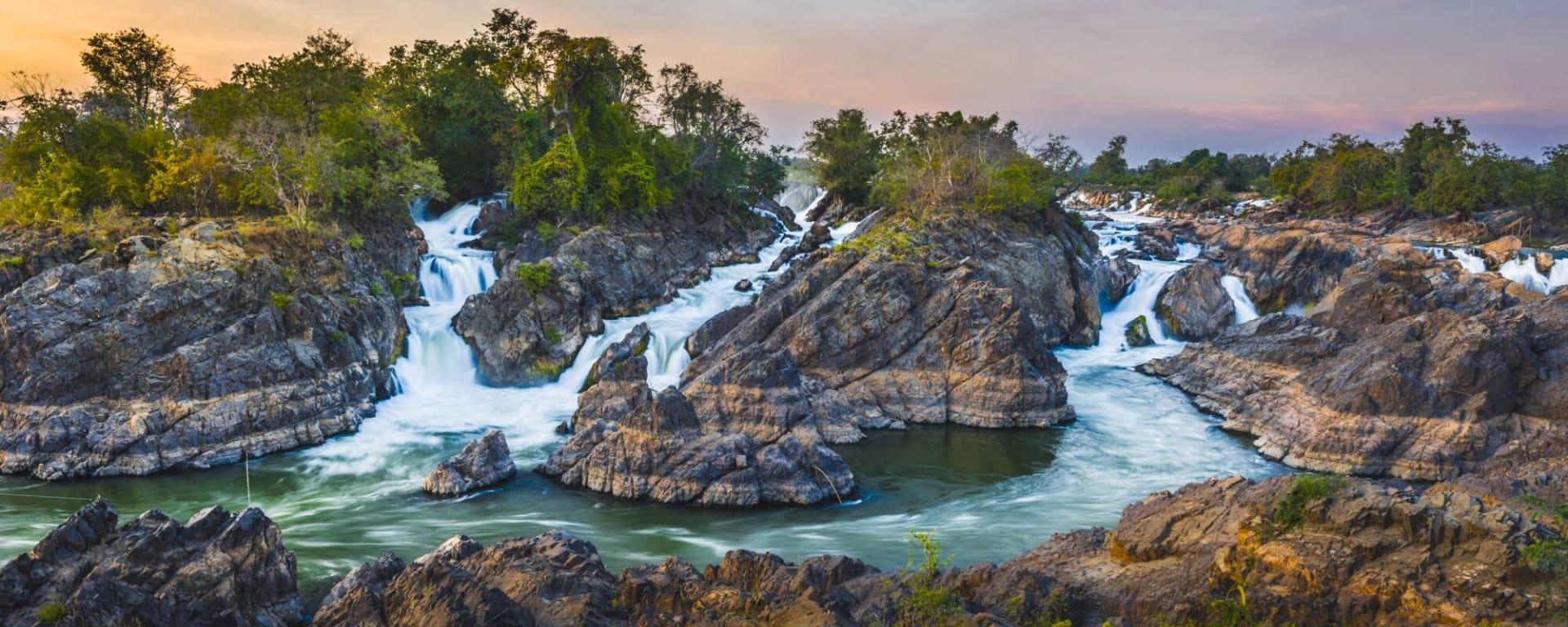 Laos entdecken mit Tischler Reisen: Laos 4000 Islands Champasak