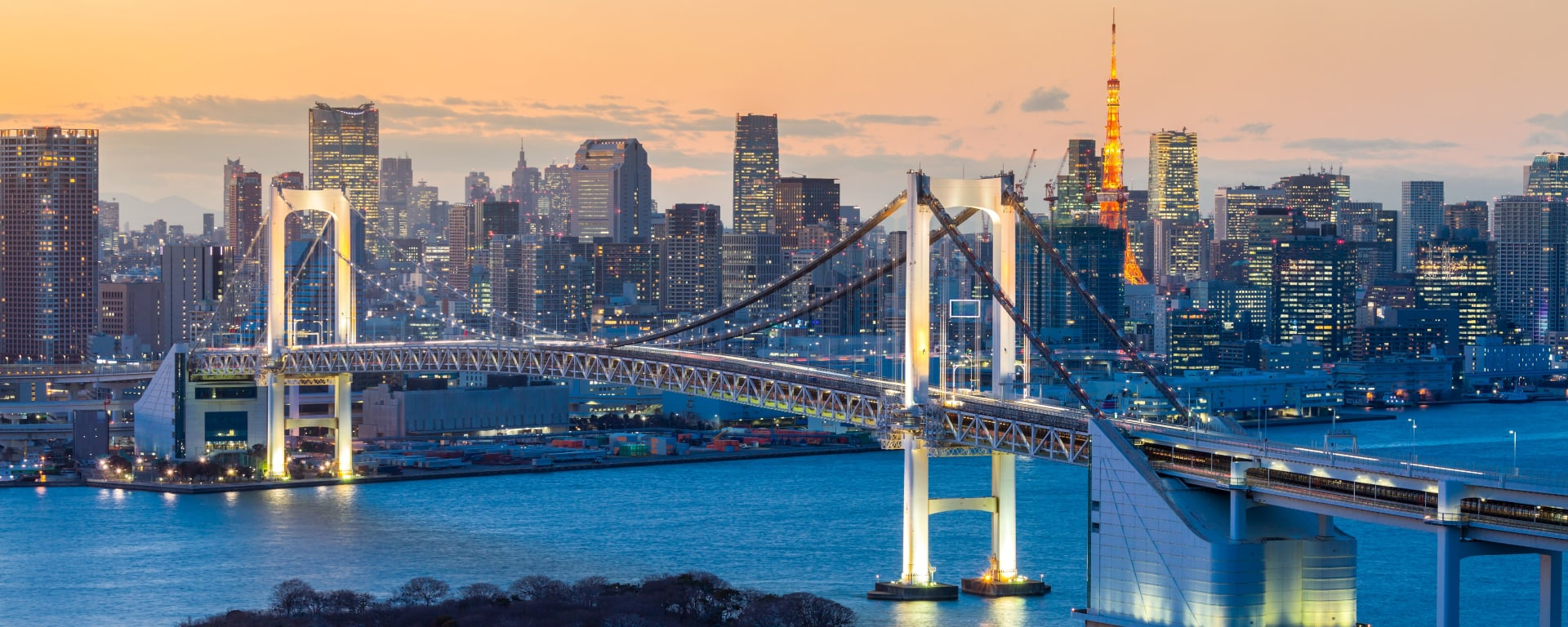 Japan entdecken mit Tischler Reisen: Japan Tokio Rainbow Bridge