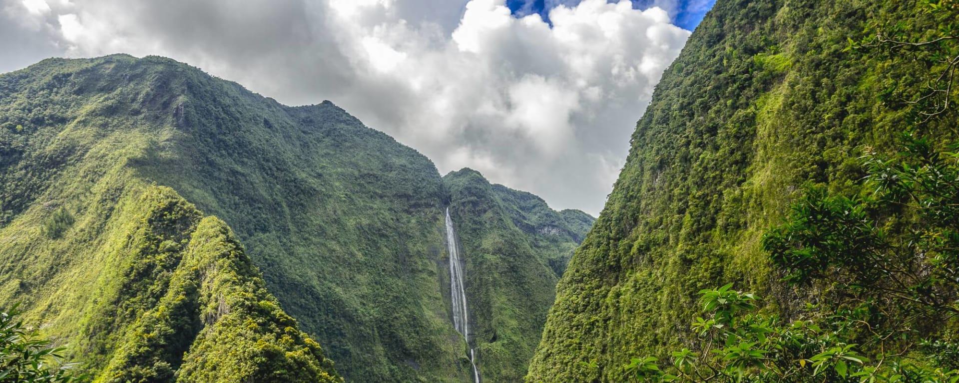 Réunion entdecken mit Tischler Reisen: Reunion Cirque Salazie Wasserfall