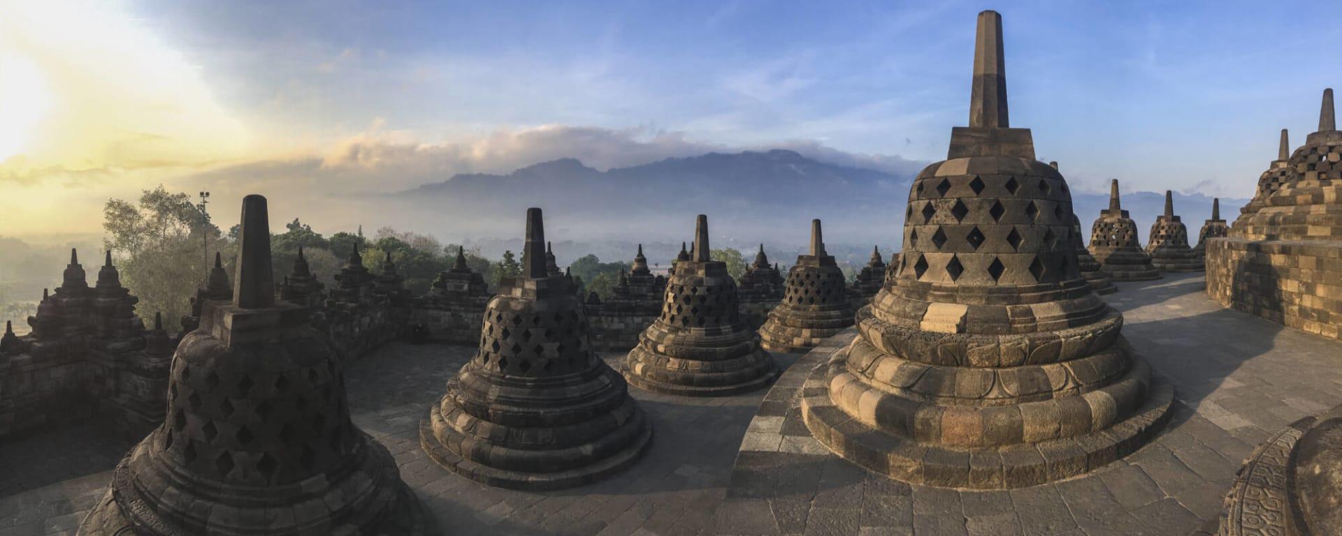 Entdeckertour Mittel-Java ab Yogyakarta und Umgebung: Indonesien Java Borobudur
