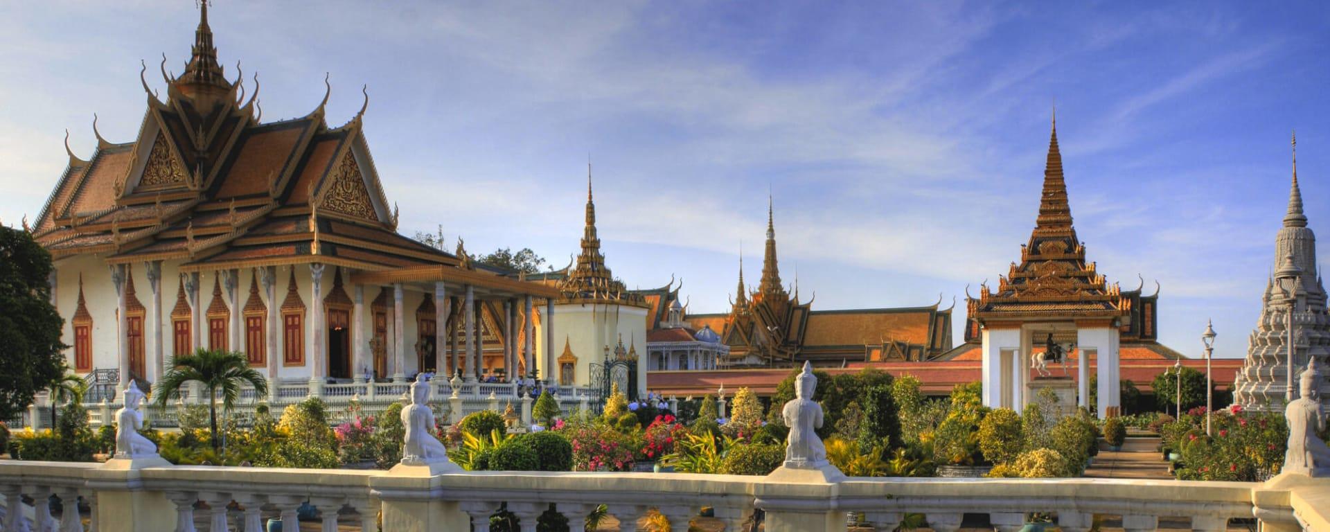 Kambodscha entdecken mit Tischler Reisen: Kambodscha Phnom Penh Koeniglicher Palast