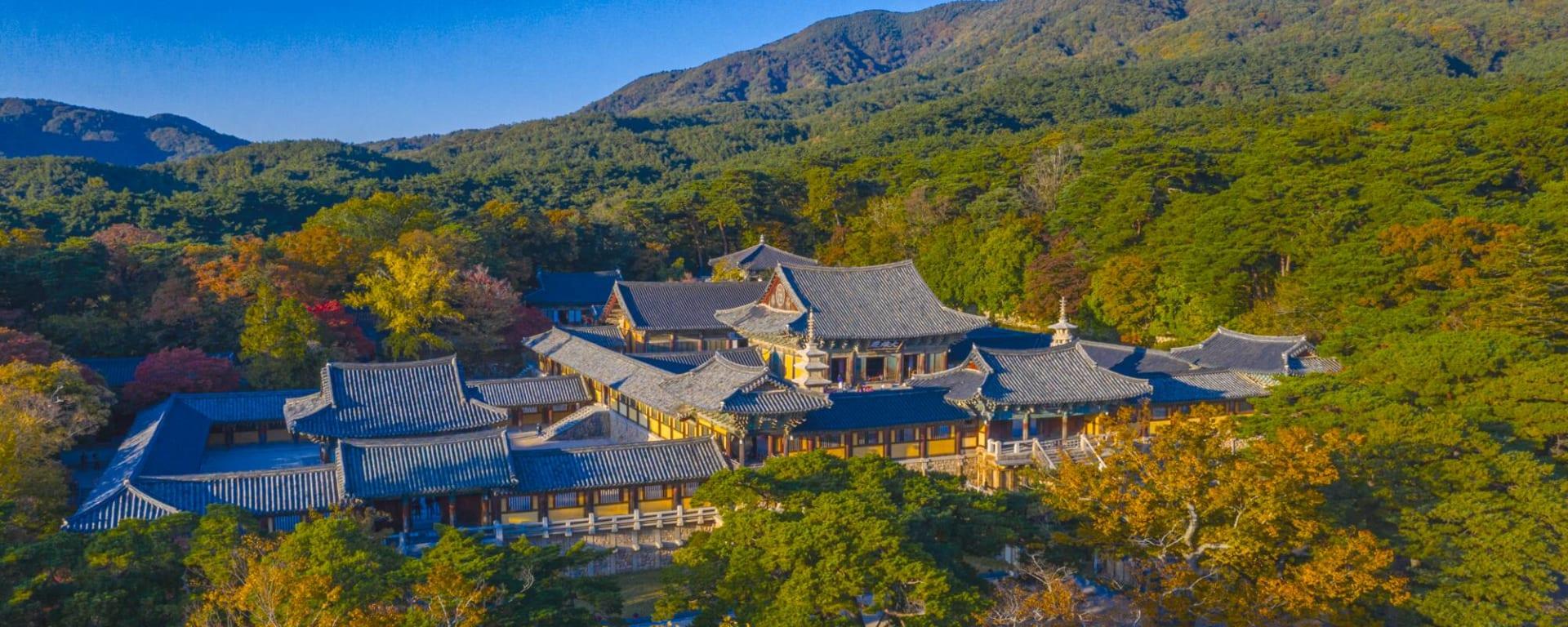 Südkorea entdecken mit Tischler Reisen: Korea Gyeongju Bulguksa Tempel
