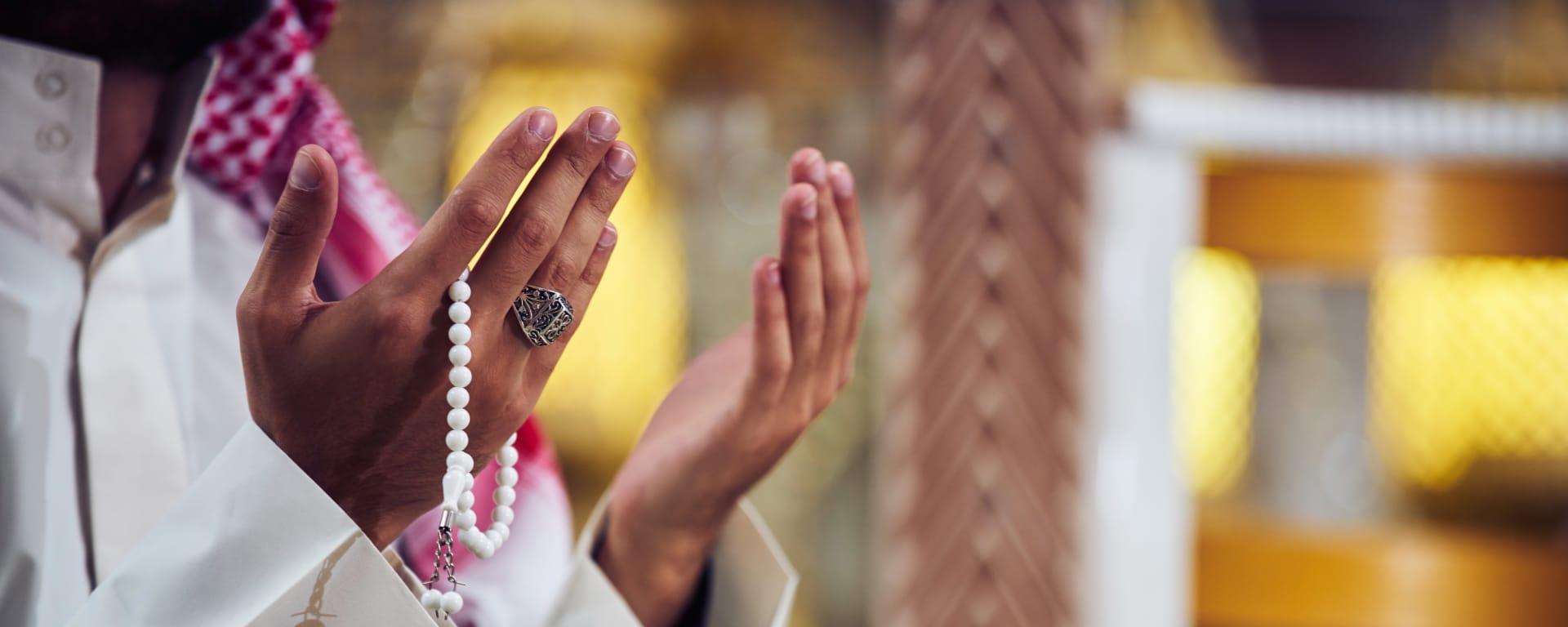 Saudi Arabien entdecken mit Tischler Reisen: Saudi Arabien Gebet Haende