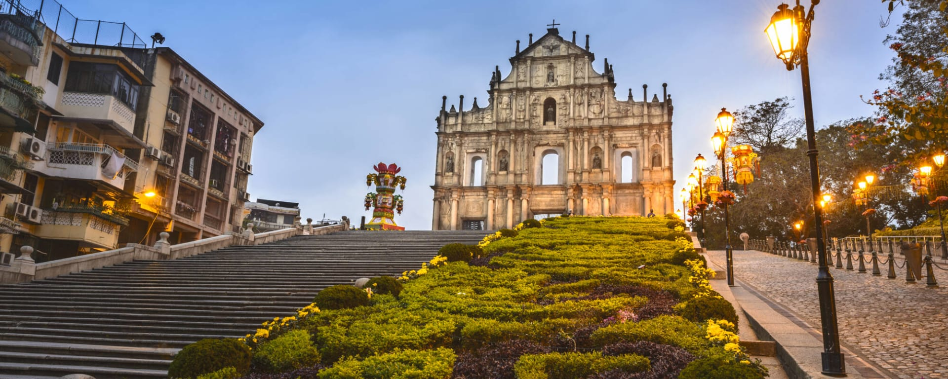 Macau entdecken mit Tischler Reisen: Macau Altstadt St Pauls
